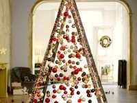 17 alternatív, kreatív karácsonyfa